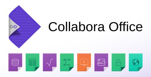 Collabora Office filetypes