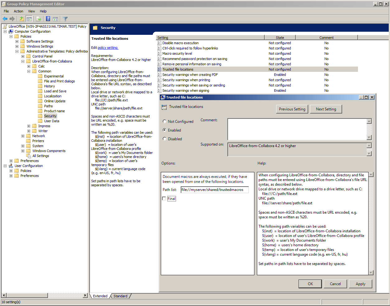 Office Group Policy Templates Windows Configuration Management Using Group Policy ADMX Files Collabora Productivity