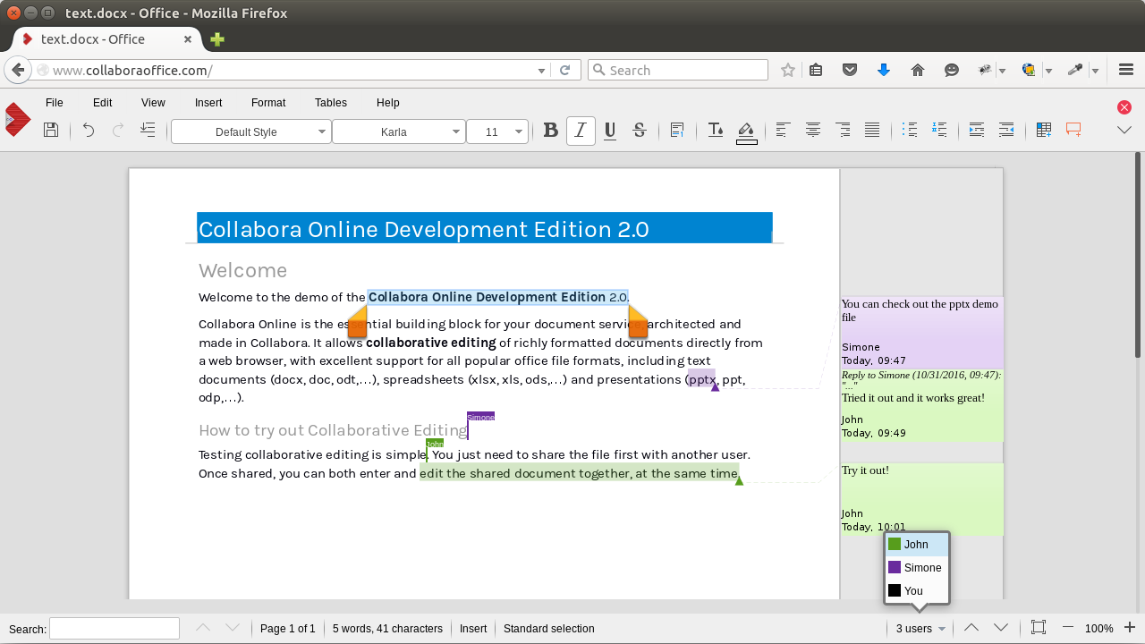 collabora online development edition code collabora productivity 2 2016