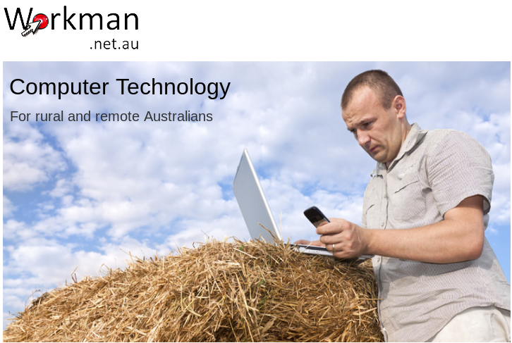 Workman.net.au website