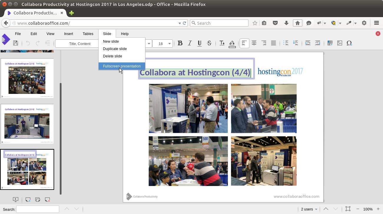 Collabora Online Development Edition (CODE) - Collabora
