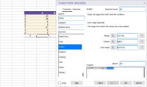Collabora Online Function Wizard - argumentts