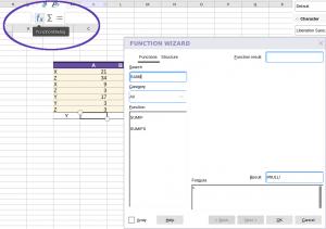 Collabora Online Function Wizard - Start
