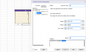 Collabora Online Function Wizard - Structure
