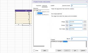 Collabora Online Function Wizard - Structure