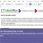 Envoi direct du document par e-mail
