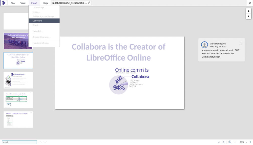 Collabora Online 6.4 Office Suite ganha nova aparência
